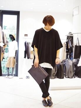 Lui's ルミネマン渋谷店|あらいさんの(Lui's|ルイス)を使ったコーディネート
