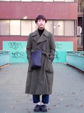 Lui's ルミネマン渋谷店|あらいさんの「「iTADAKi(イタダキ) ぺリンガーショルダーバック(Lui's)」を使ったコーディネート