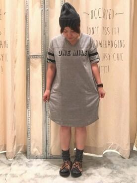 「ブリーチリブニットワッチ(coen)」 using this coen新潟南店|coen   たむら looks