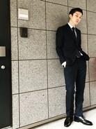 本日は友人の結婚式でスーツの初投稿です(^^)  スーツは二子玉川の麻布テーラーでセミオーダースーツになります。 低価格のわりにいい仕事します。
