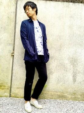 shojisanさんの(MAISON KITSUNE|メゾンキツネ)を使ったコーディネート