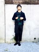 shojisanさんの「《追加》TRイージーワイドパンツ#(JOURNAL STANDARD|ジャーナルスタンダード)」を使ったコーディネート