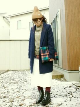 しぃさんの「Lee MI-MOLLETスカート(SEVENDAYS=SUNDAY)」を使ったコーディネート
