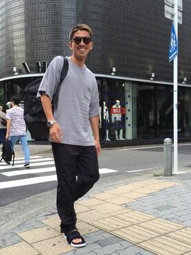 LHP 名古屋店 yoshiyasu okanoさんの(Alexander Wang アレキサンダーワン)を使ったコーディネート