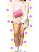 「FOREVER 21 Oversized Button-Back Shirt(Forever 21)」 using this NANA looks