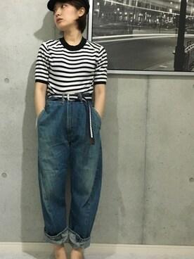 qualite事業部 misako    minabeさんの「C/Pウォッシャブル(Devinette)」を使ったコーディネート