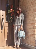 「Gucci Bamboo Shopper Mini Textured-Leather Shoulder Bag(Gucci)」 using this etsuko looks