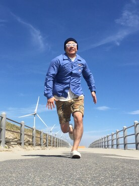 Tatsuさんの(THE NORTH FACE PURPLE LABEL|ザ ノースフェイス パープルレーベル)を使ったコーディネート