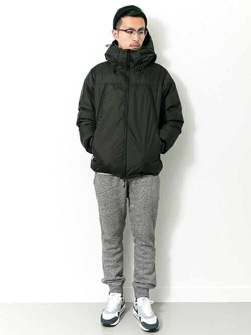 kondoさんの「NANGA×URiD AURORA 3LAYER DOWN BLOUSON(URBAN RESEARCH)」を使ったコーディネート