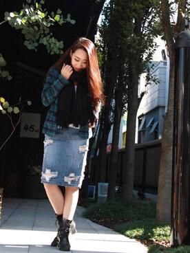45R 高崎|Chihiro Washidaさんの「藍カディネルシャツジャケット(45R)」を使ったコーディネート
