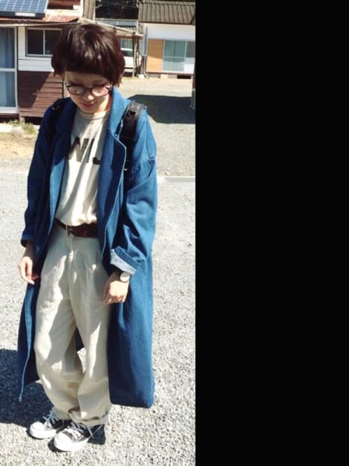 あさみさんの「ダテメガネSS 713201(LEPSIM LOWRYS FARM)」を使ったコーディネート