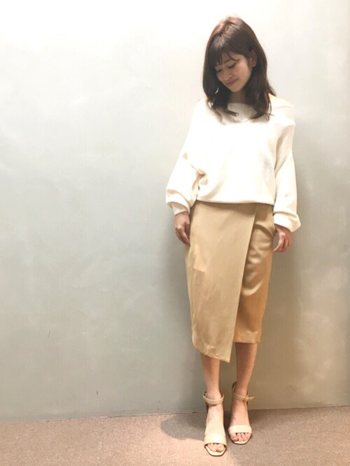 9b04f4c6ea4ac6 nishi(RANDA 本社) RANDAのTシャツ/カットソーを使ったコーディネート - WEAR