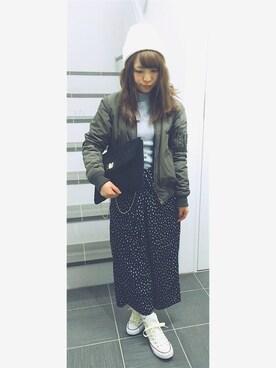 Airi Yokoyamaさんの(CA4LA|カシラ)を使ったコーディネート