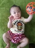 一くんさんの「MILO BANANA POOL DOT BABY GIFT(A BATHING APE|アベイシングエイプ)」を使ったコーディネート