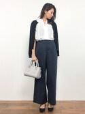 m.yさんの「【PLAIN CLOTHING】スクエアハンドバッグ(PLAIN CLOTHING|プレーンクロージング)」を使ったコーディネート
