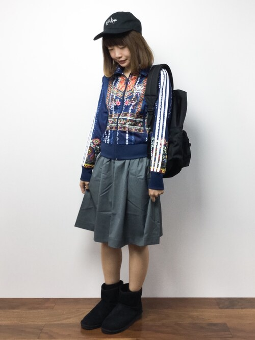 いぴさんの「【adidas Originals by The Farm Company】 ジャージ [CIRANDEIRA FIREBIRD TRACK TOP](adidas)」を使ったコーディネート