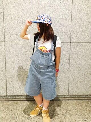 Hard Rock Cafe JAPAN Hard Rock Cafe JAPANさんの(Hard Rock Cafe ハードロックカフェ)を使ったコーディネート