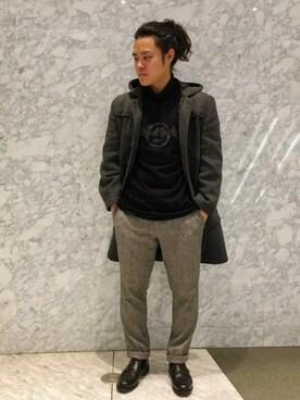 Hard Rock Cafe JAPANさんの「Scan Panel T(Hard Rock Cafe|ハードロックカフェ)」を使ったコーディネート