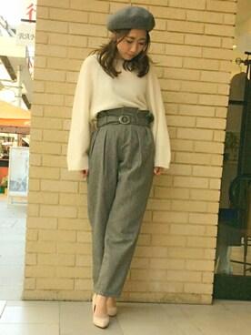 RANDA 高松店 misako yanoさんの(RANDA ランダ)を使ったコーディネート