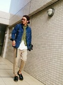 「DIESEL Moccasins(Diesel)」 using this 虫コロリけんた looks