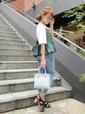 chikaさんの「スターヘアゴム【PLAIN CLOTHING】(PLAIN CLOTHING|プレーンクロージング)」を使ったコーディネート
