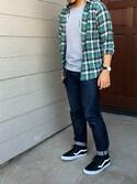 「Vans SK8-Hi Cup CA Leather High-Top Sneakers(Vans)」 using this boykun looks