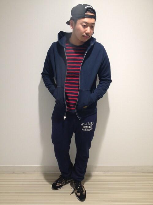 AVIREX 静岡Mr.tsuchiyaさんのキャップ「AVIREX×NEW ERA/アヴィレックス×