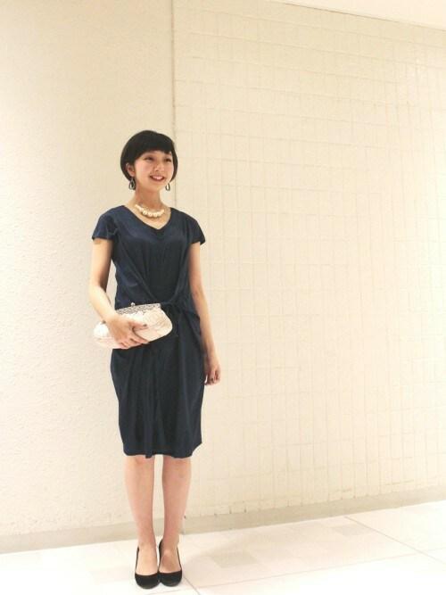 youra(TIENS ecoute 新宿店)|TIENS ecouteのクラッチバッグを使ったコーディネート , WEAR