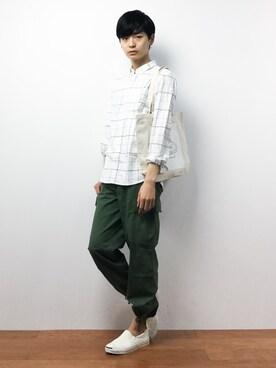 ZOZOTOWN|Yuさんの(JUNRed|ジュンレッド)を使ったコーディネート