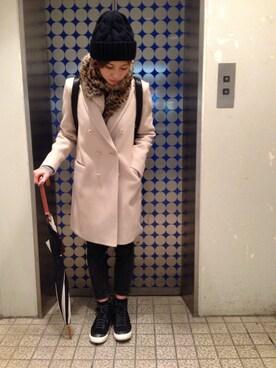 安田美沙子さんの「ずっと欲しかったワンのリュック、半年越しでセールで会えた❤️(Alexander Wang|アレキサンダーワン)」を使ったコーディネート