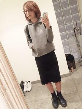安田美沙子さんの(OLIVER PEOPLES|オリバーピープルズ)を使ったコーディネート