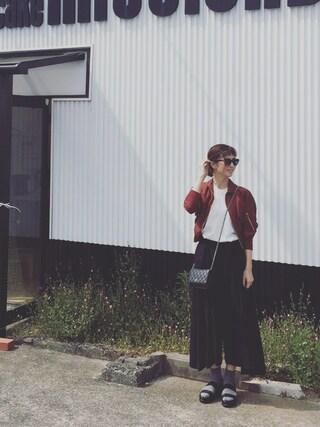 安田美沙子さんの(beautiful people|ビューティフルピープル)を使ったコーディネート