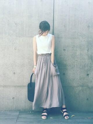 安田美沙子さんの(UNIQLO|ユニクロ)を使ったコーディネート