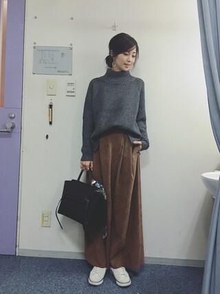 安田美沙子さんの(AMIW|アミウ)を使ったコーディネート