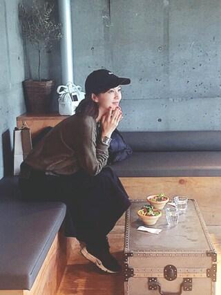 安田美沙子さんの(STUSSY|ステューシー)を使ったコーディネート