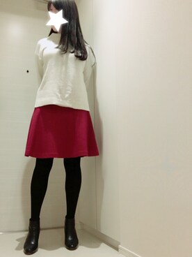 Marukome85さんの「★★Ouur: BOATER WOOL SWEATER◎(SHIPS for women)」を使ったコーディネート