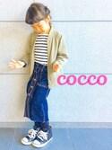 cocco♡さんの「CONVERSE / CHILD ALL STAR N Z HI(CONVERSE|コンバース)」を使ったコーディネート