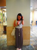 lisaさんの「ARIZONA/アリゾナ_EVA (WOMEN)(BIRKENSTOCK|ビルケンシュトック)」を使ったコーディネート
