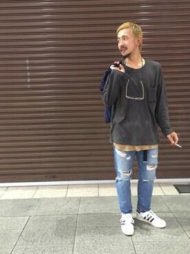 谷尾裕一さんの(ONES STROKE|ワンズ ストローク)を使ったコーディネート