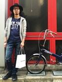 Satoshiさんの「BLUE TIEDYE ボクサーパンツ(VANQUISH|ヴァンキッシュ)」を使ったコーディネート