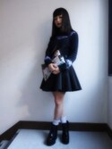 「Cameo Reflect Skirt(Cameo)」 using this コダマカホ looks