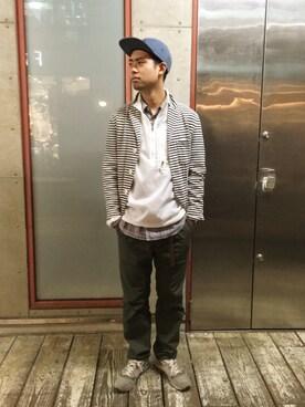 FREAKS STORE 原宿店|永島秀都さんの(Battenwear|バテンウエア)を使ったコーディネート