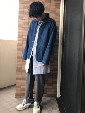 suzuki takeyukiさんの(NOMA t.d.|ノーマティーディー)を使ったコーディネート