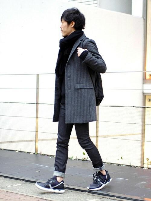 注目の2016年秋冬「チェスターコート」の着こなし メンズ、コーディネート、スナップ
