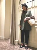 Maki Enomotoさんの「<Pena Jewels>リングモチーフチョーカー◆(BEAUTY&YOUTH UNITED ARROWS|ビューティアンドユースユナイテッドアローズ)」を使ったコーディネート
