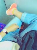 「Reebok 'Zpump Fusion' Running Shoe (Women)(Reebok)」 using this アサイー looks