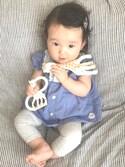 Ranさんの「キリンのソフィー ソフィスティケード・ソフィーの歯固めセット(メッセージカード&ギフト用紙袋付き)(キリンのソフィ|キリンノソフィ)」を使ったコーディネート