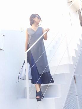 渡辺由香さんの(MARNI|マルニ)を使ったコーディネート