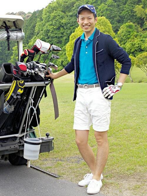 ゴルフキャップを活用した大人のゴルフウェアコーデ術6選×おすすめブランド紹介