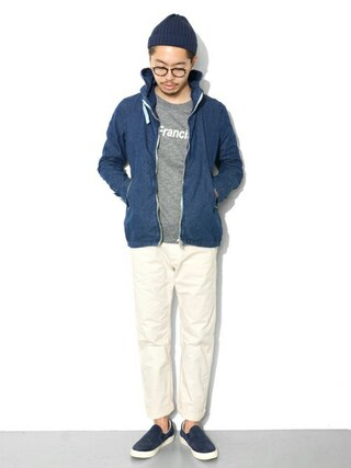 URBAN RESEARCH DOORS | エグチさんのスウェット「URBAN RESEARCH DOORS MENS D'sh Print Sweat C/N」を使ったコーディネート
